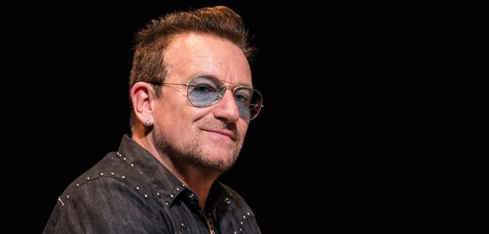 Bono Becomes Glamour Magazine's First Ever 'Man Of The Year'