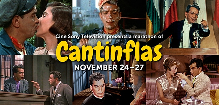Cine Sony Television To Kick Off Holidays With Special Four-Day Thanksgiving Weekend Cantinflas Movie Marathon For The Whole Family 1