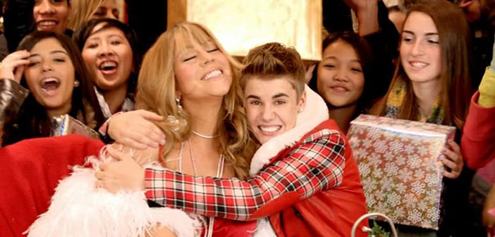 Mariah Carey And Justin Bieber Lead In Most Downloaded Songs For the Holidays