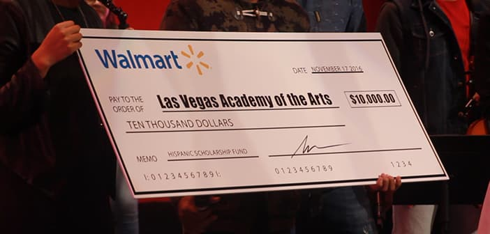 Walmart, Gente de Zona And Latin GRAMMY Week Made A Very Sopecial Trip To A Las Vegas Middle School 3