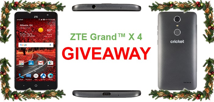 CLOSED--ZTE Grand X 4 - Holiday Giveaway 1
