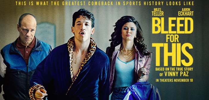 CLOSED--BLEED FOR THIS - Advanced Screening Giveaway