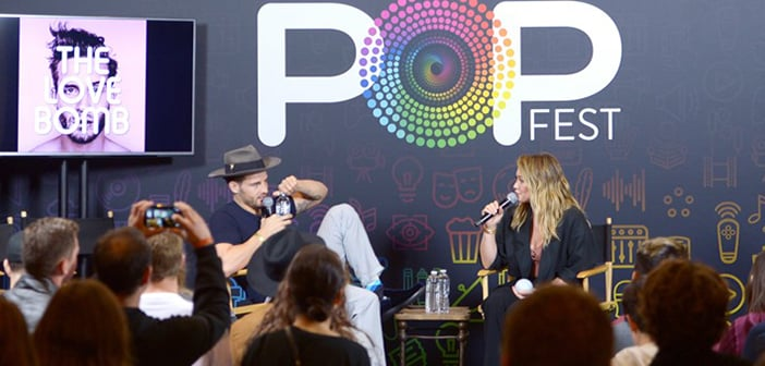 OFFICE CHRISTMAS PARTY - EW PopFest Cast Panel Images 4