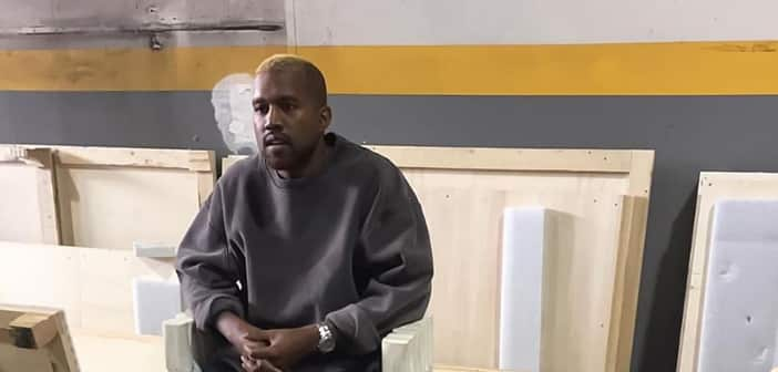 Kanye West Makes Appearrance After Hospital Stay With New Blond Hair