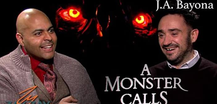 A Monster Calls - J. A. Bayona Interview - ZayZay.Com