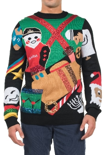 closed office christmas party ugly christmas sweaters 2