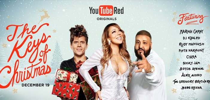 "YouTube To Present Holiday Special ""The Keys of Christmas"""