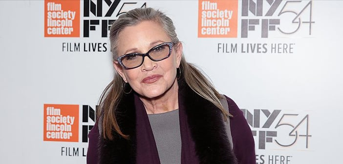 Carrie Fisher Passes Away Tuesday Morning After Holiday Weekend Following Heart Attack