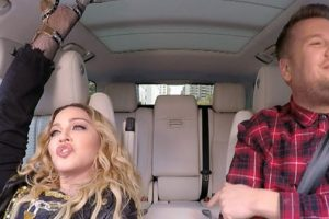 Madonna Joins James Corden In Carpool Karaoke And Shares Past Encounter With Michael Jackson