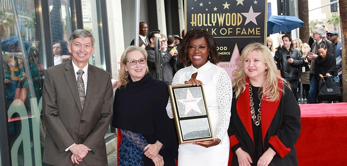 Viola Davis Entetered Into The Hollywood Walk Of Fame Star 12