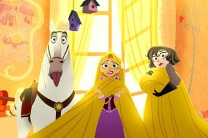 "Rapunzel Swings In To Action With The Premiere Of The Disney Channel Original Movie ""Tangled Before Ever After"" 3"