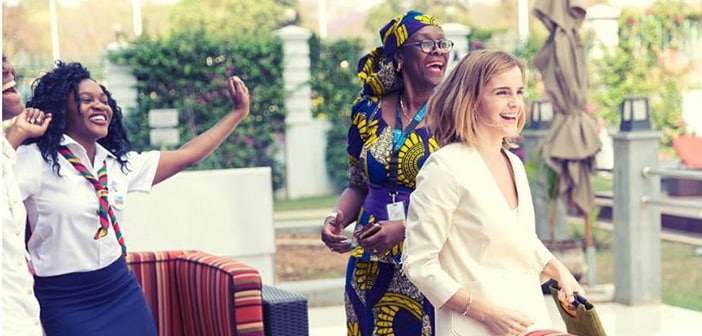 """Emma Watson Launches """"The Press Tour"""" Instagram Channel To Highlight Sustainable Fashion"""