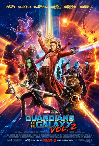 """Marvel Studios' """"Guardians of the Galaxy Vol. 2"""" New Trailer and Poster 1"""