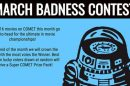 CometTV Swag Pack Giveaway – MARCH MOVIE BADNESS 1