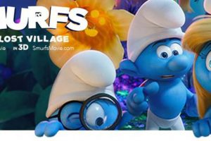 "SMURFS: THE LOST VILLAGE - New ""Lost"" Trailer!"