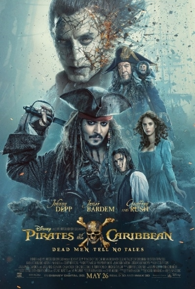 PIRATES OF THE CARIBBEAN: DEAD MEN TELL NO TALES - New Trailer and Poster 2