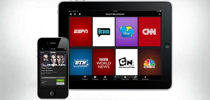 Comcast launched xfinity stream app to all xfinity tv for Mirror xfinity app to tv