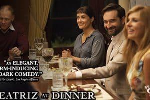 streno del Trailer de BEATRIZ AT DINNER con Salma Hayek
