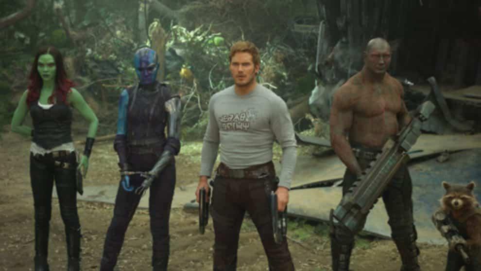GUARDIANS OF THE GALAXY VOL. 2, has an all star cast that sees the return of Chris Pratt, Zoe Saldana, Dave Bautista, Vin Diesel, Bradley Cooper