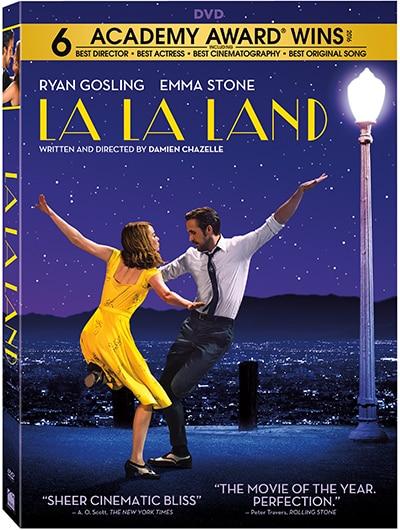 La La Land DVD giveaway