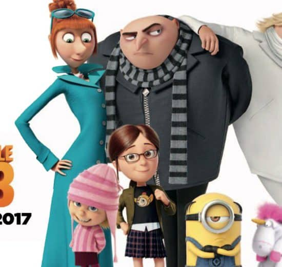 Meet Gru's long lost twin brother, Dru, in the upcoming, Universal Pictures' Despicable Me 3