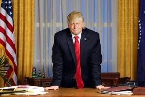Anthony Atamanuik as donald trump
