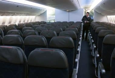 American Airlines squeezing seats