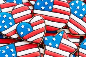 Memorial Day-patriotic-cookies