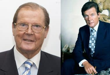 Sir Roger Moore as_Jeame Bond