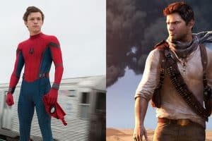 tom holland moving to uncharted series