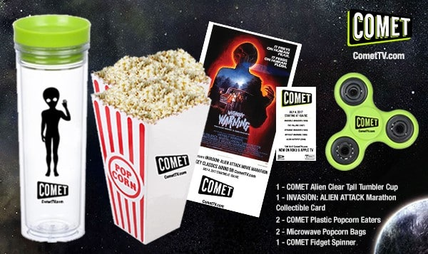 Alien Attack Movie Marathon COMET TV Giveaway