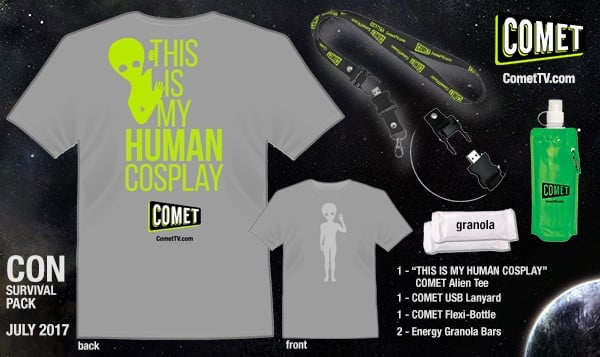 COMET TV - Con Survival Pack Giveaway