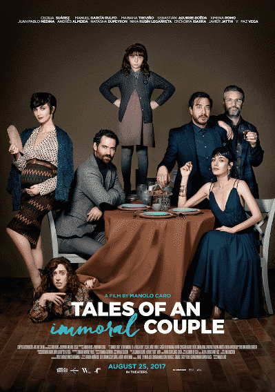 Tales of an Immoral COUPLE POSTER