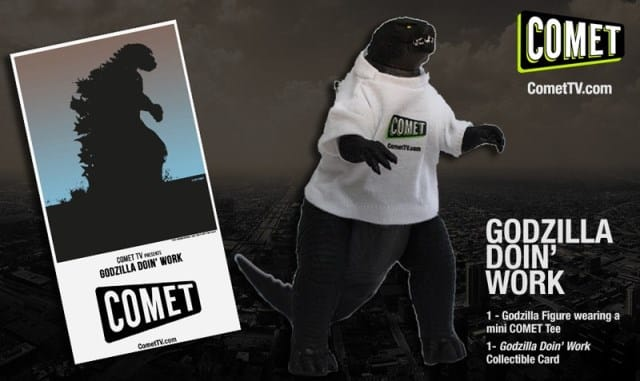 COMET TV Godzilla