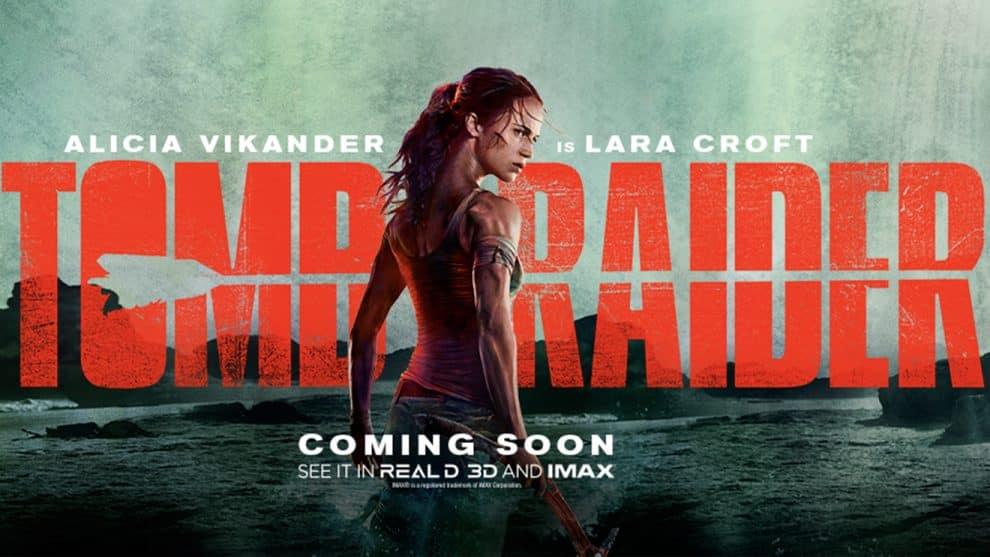 TOMB RAIDER - Teaser & Poster   Zay Zay  Com