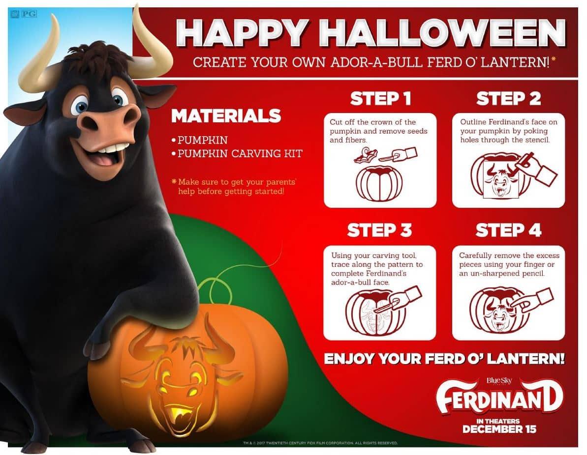 Ferdinand - Halloween Printable Activities | Zay Zay. Com
