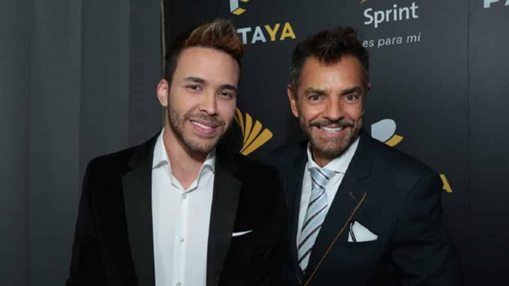 Prince Royce and Eugenio Derbez