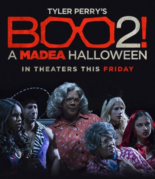 TYLER PERRY'S BOO 2! A MADEA HALLOWEEN - In Theaters This Friday ...