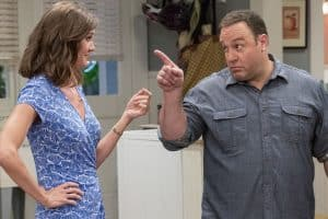 kevin can wait - Erinn Hayes and Kevin James