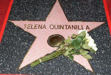 Selena Quintanilla Hollywood Walk Fame Star