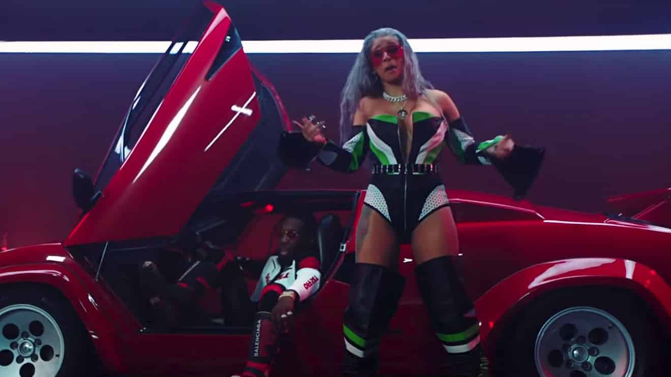 Cardi b scores another chart topper with newly released for Motor sport nicki minaj