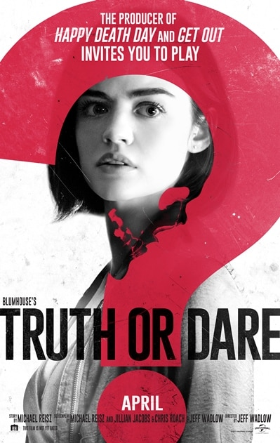 BLUMHOUSES'S TRUTH OR DARE