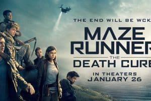 Maze Runner Death Cure banner