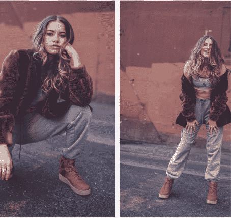 competitive price c1c7c b8b14 Sofia Reyes joins Nike Los Angeles SF AF1 Campaign: THE ...