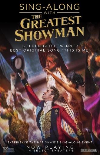 singalong - greatest showman