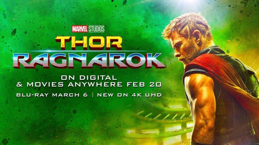 thor ragnarok dvd release