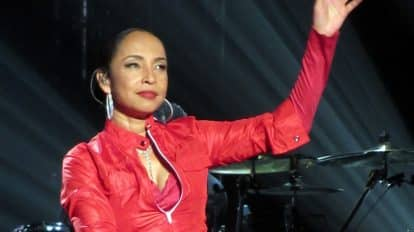 Sade works on Flowers Of the Universe