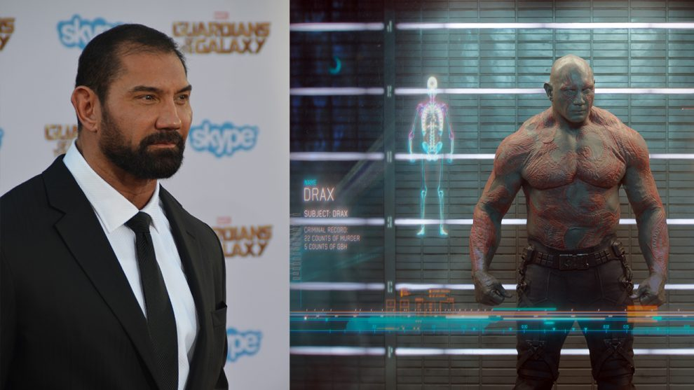 Dave Batista quitting Guardians 3 is Disney doesn't use James Gunn's script